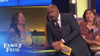 Funny moment! Who's the star of Sleeping BOOTY? | Family Feud