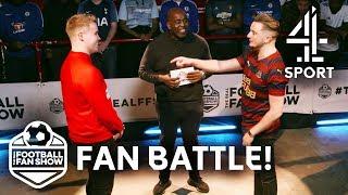 Newcastle vs. Sunderland! EPIC Fan Battle | The Real Football Fan Show