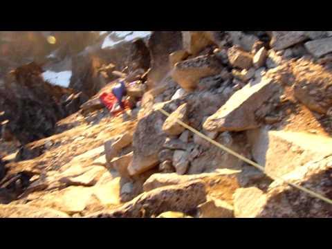 Mt.Stuart -  North Ridge Bivy at 9150 feet