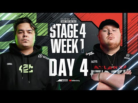 Call of Duty League 2021 Season | Stage IV Week 1 — Chicago Home Series | Day 4