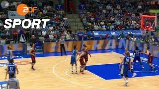Bayern drehen Spiel gegen Skyliners spät | Basketball | ZDF SPORTreportage