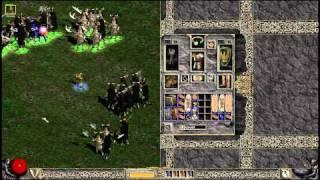 Diablo II. Fury amazon in hell cow level