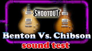 Benton Vs. Chibson Chinese Fake (The Shootout)