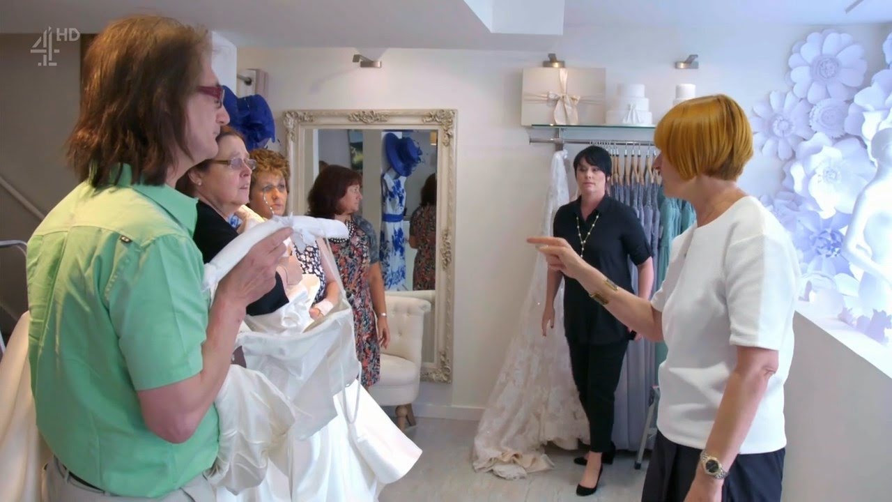 Mary Portas Secret Shopper at The Wedding Shop - YouTube