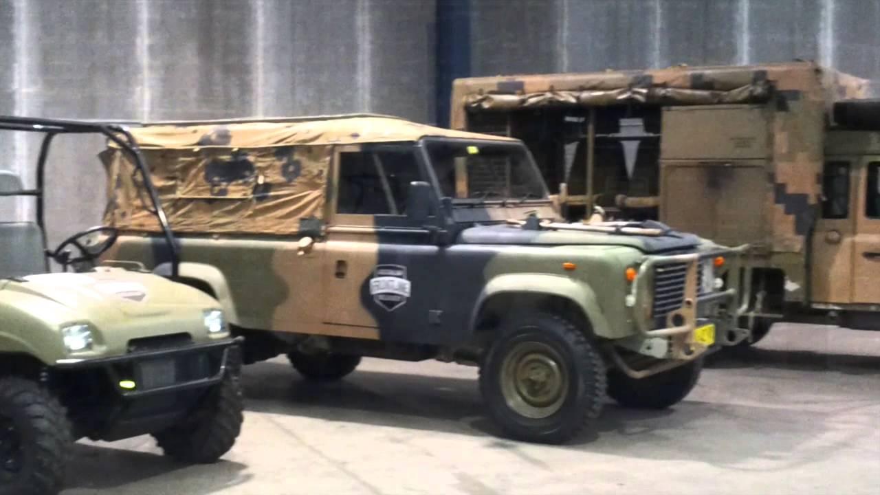 Australian Frontline Machinery June 2015 Ex-Military Vehicle Auction