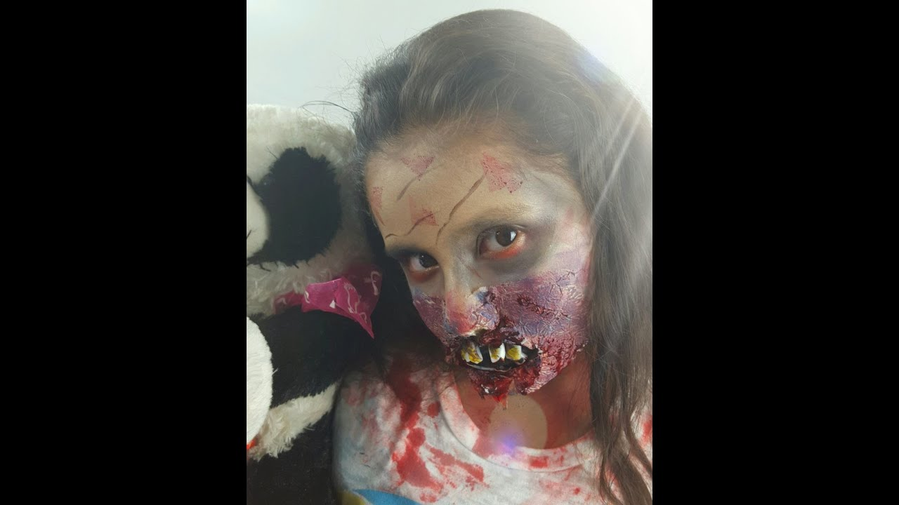 Maquillaje ni a zombie youtube - Como maquillarse para halloween ...