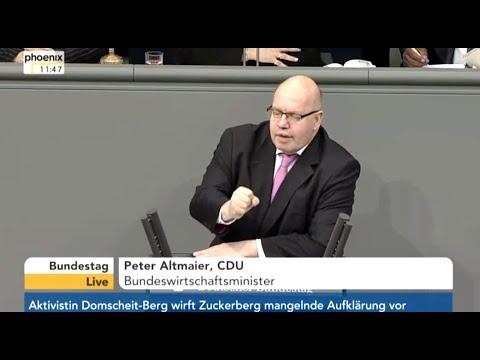 Bundestag: [ Wirtschaft & Energie ] - 22.3.18