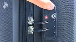 Repeat youtube video Heys TSA Lock Setup