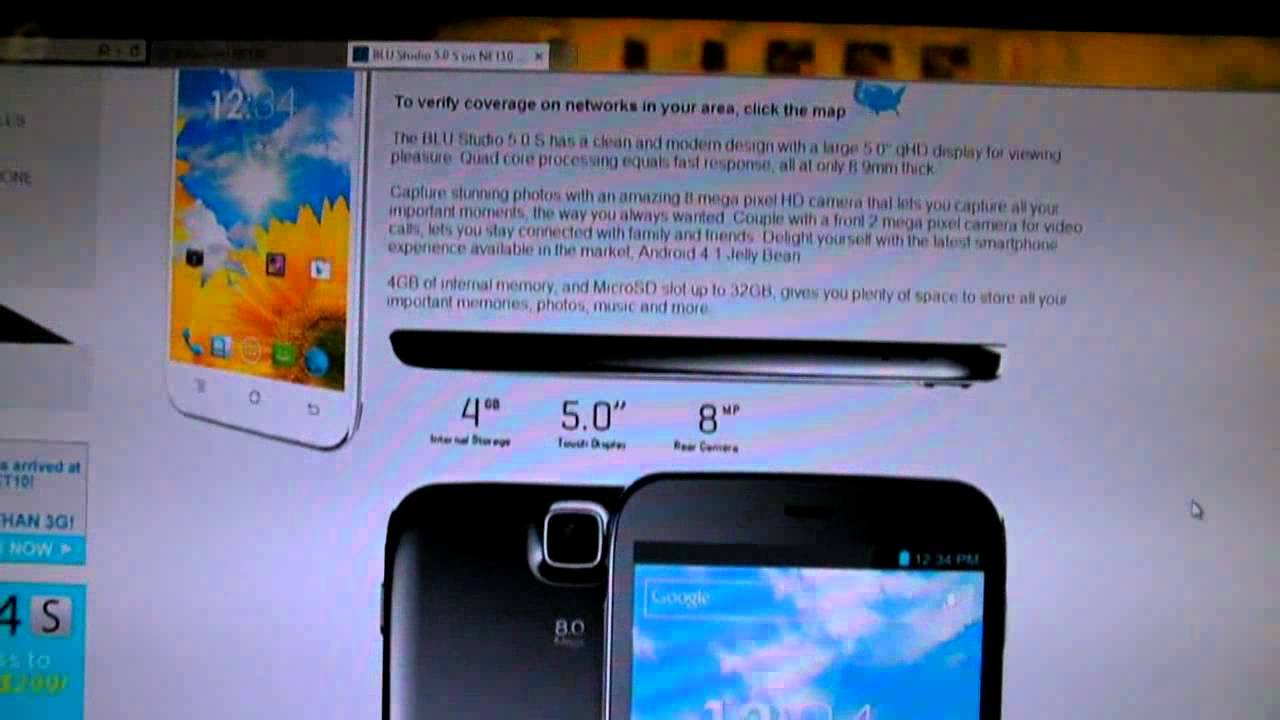 Blu Studio 5 0 S Review & Net10 or Straight Talk Bring Your Own Phone  Unlimited $45 A Month