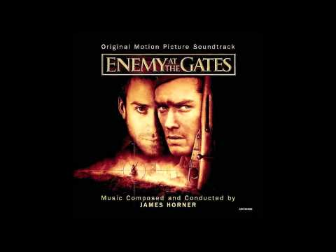 The Hunter Becomes The Hunted - Enemy at the Gates Score - James Horner mp3