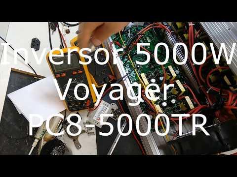 Inversor de tensão 12v para 220v 4000w