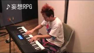 トランペットとキーボードの同時演奏ネタや、異なる楽曲のコラボ演奏で...