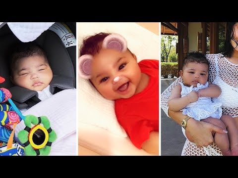"""Kylie Jenner and Travis Scott's Daughter """"Stormi Webster"""" 