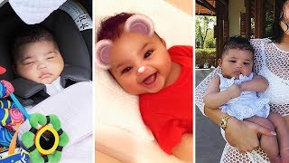 "Kylie Jenner and Travis Scott's Daughter ""Stormi Webster"" 