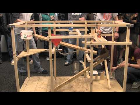 "Rube Goldberg Entry - ""Mousetrap"""