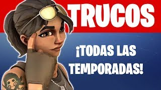¡TRUCOS NUEVOS! FORTNITE Battle Royale | Para TODAS las TEMPORADAS ¡Juega y GANA! (Hacks 2019)