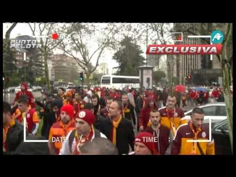 Punto Pelota se infiltró con los aficionados del Galatasaray