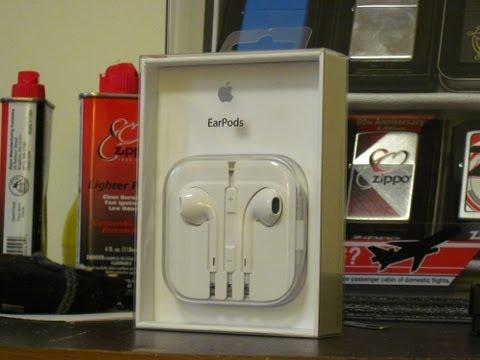 Apple EarPods Unboxing