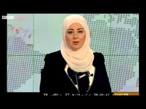 Egypt's veiled presenter in breakthrough TV appearance
