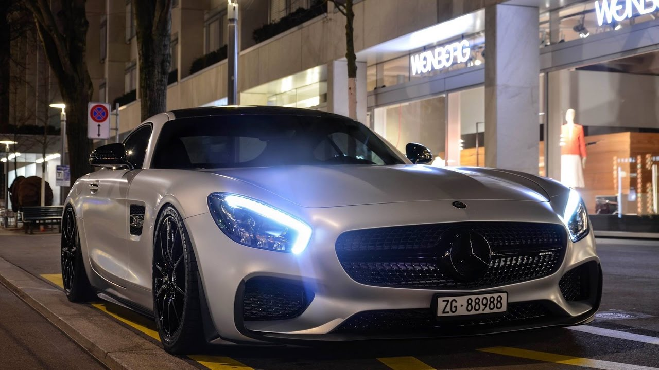 Mercedes Benz Amg Gts Edition 1 Start Up Revs