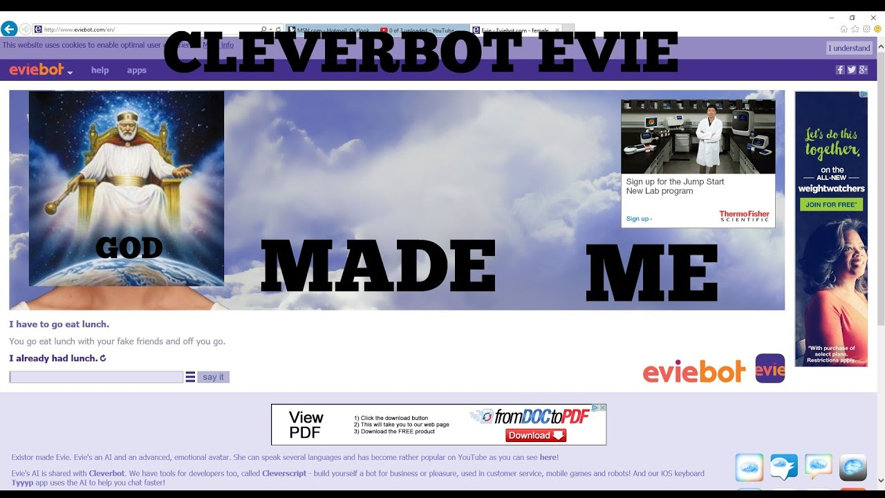 Cleverbot evie download
