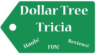 Dollar Tree Haul!  New Items!  September 13, 2019