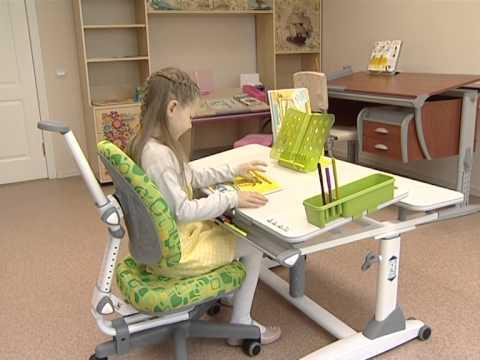 Растущие парты и стулья трансформеры для школьников (для дома)_НЭП на 7 канале_Красноярск