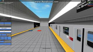 ROBLOX Transit EXCLUSIVE: R142 6X quitte South Street