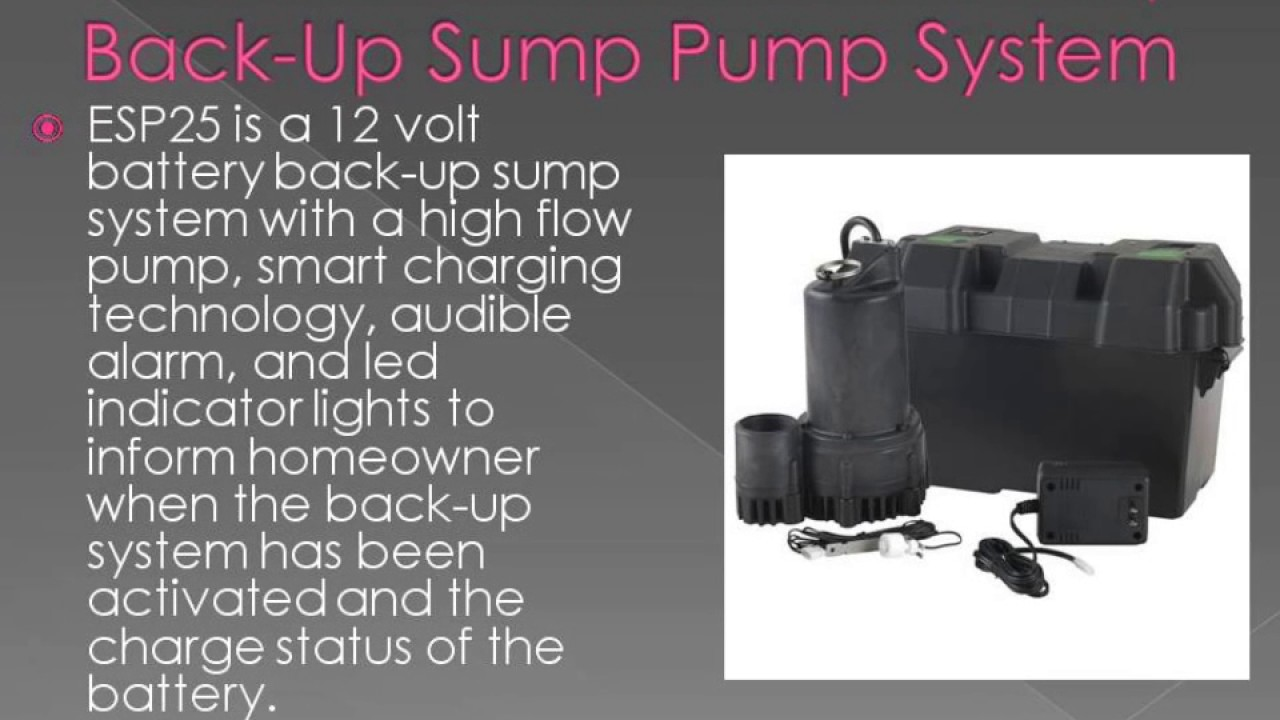Best sump pump backup system - Top 10 Best Selling Sump Pump Reviews