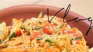 절대 불지않는 참치비빔국수 Spicy tuna nood…