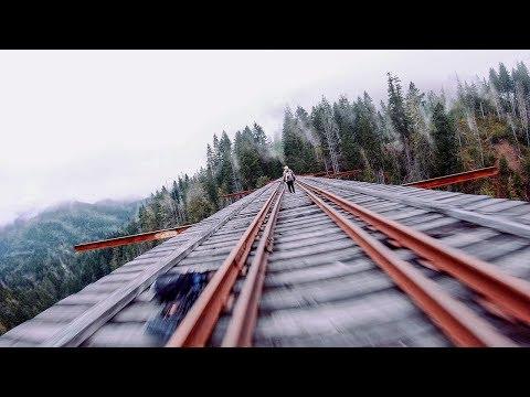FPV FREESTYLE AT VANCE CREEK BRIDGE - 350 FEET HIGH!