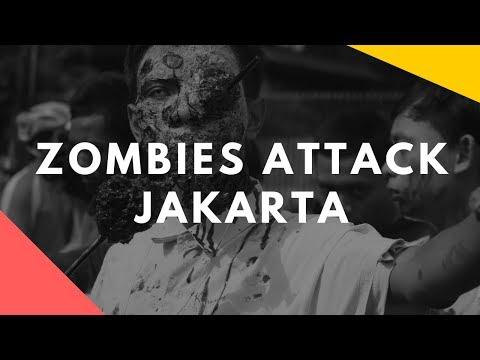 Zombies Attack Jakarta, Indonesia (ZombieWalk 2013)