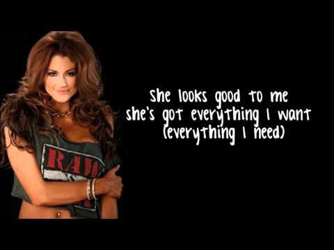 WWE Diva Eve Torres Theme song lyrics (v2) (HD)