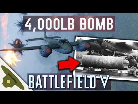 Battlefield 5: NEW PLANE with a 4,000lb BOMB! - Mosquito MK VI thumbnail