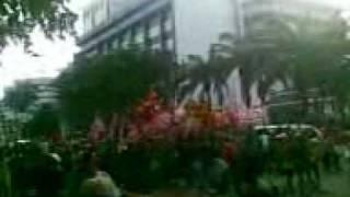 Video005 demo unjuk rasa 100 hari pemerintah ri sby budiono 28 januari 2010 depan istana negara jakarta