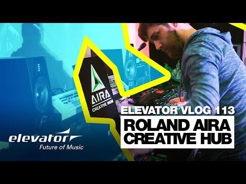 Roland AIRA Creative Hub - Elevator Vlog 113 (deutsch)
