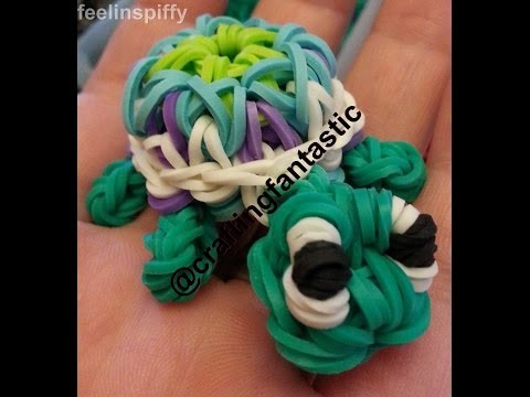 OFFICIAL Kaleidoscope Turtle Tutorial by feelinspiffy (Rainbow Loom)