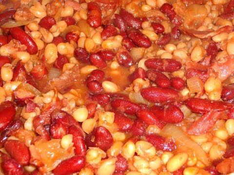 Home Made Baked Boston Beans
