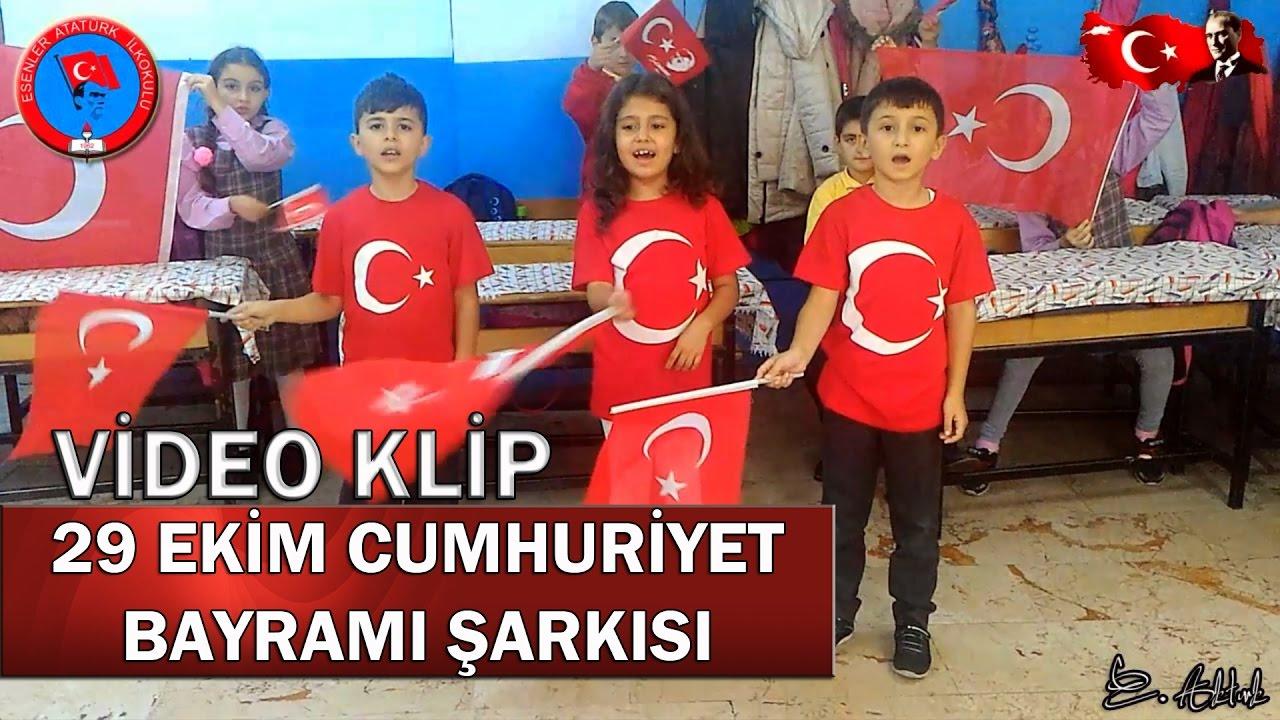 29 Ekim Cumhuriyet Bayrami şarkisi Youtube