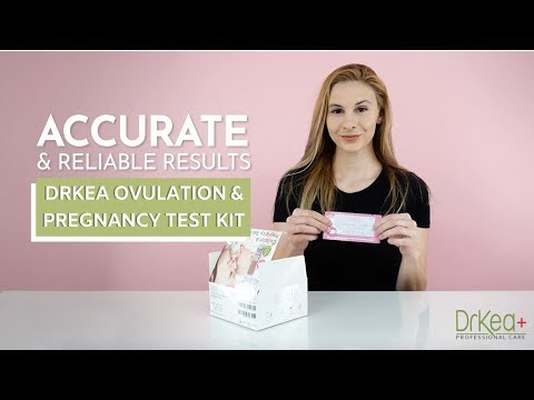 HOW TO USE: DrKea+ Ovulation & Pregnancy Test Kit | Home Use | Reliable & Effective Family Planning
