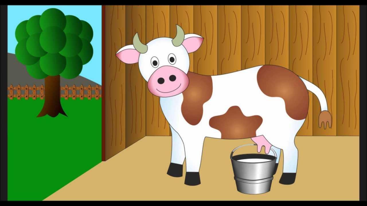 Canzoni per bambini la mia mucca non fa il latte youtube