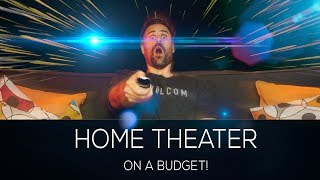 Ultimate Budget Home Theater Setup!