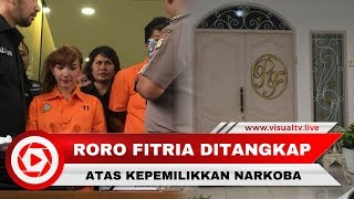 Artis Roro Fitria Ditangkap Polisi Terkait Narkoba