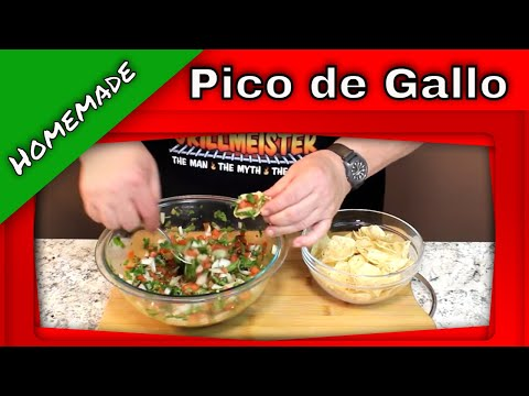 Homemade Pico de Gallo!  (Great on Tacos and Chips!)