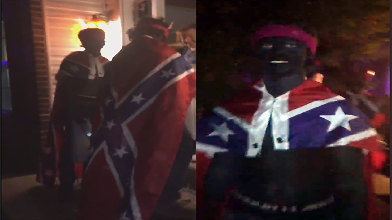 WS Trick Or Treaters Wear Blackface As Part Of Their Costume