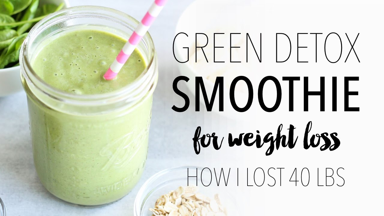 <div>GREEN SMOOTHIE RECIPE FOR WEIGHT LOSS | Easy & Healthy Breakfast Ideas!</div>