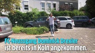 FC-Neuzugang Dominick Drexler ist in Köln angekommen