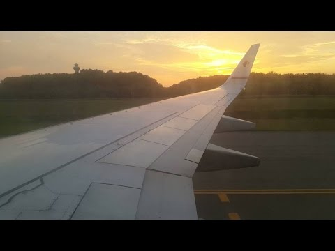 [HD]Malaysia Airlines Full Flight Miri to Kuala Lumpur