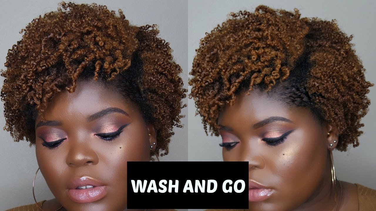 Type 4 Hairstyles: WASH AND GO ON AWKWARD STAGE TYPE 4 NATURAL HAIR
