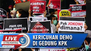 🔴 BREAKING NEWS - Live Streaming Kericuhan saat Demo di KPK